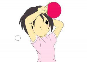 卓球女子選手