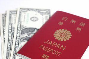 パスポートとUSドル写真601313