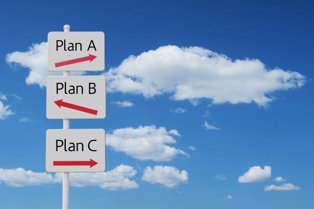 目標への選択肢